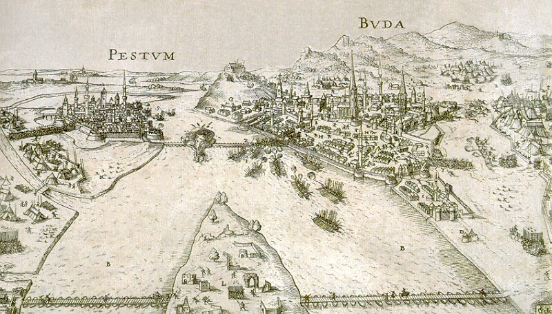 Georg Keller: The Siege of Buda, 1602